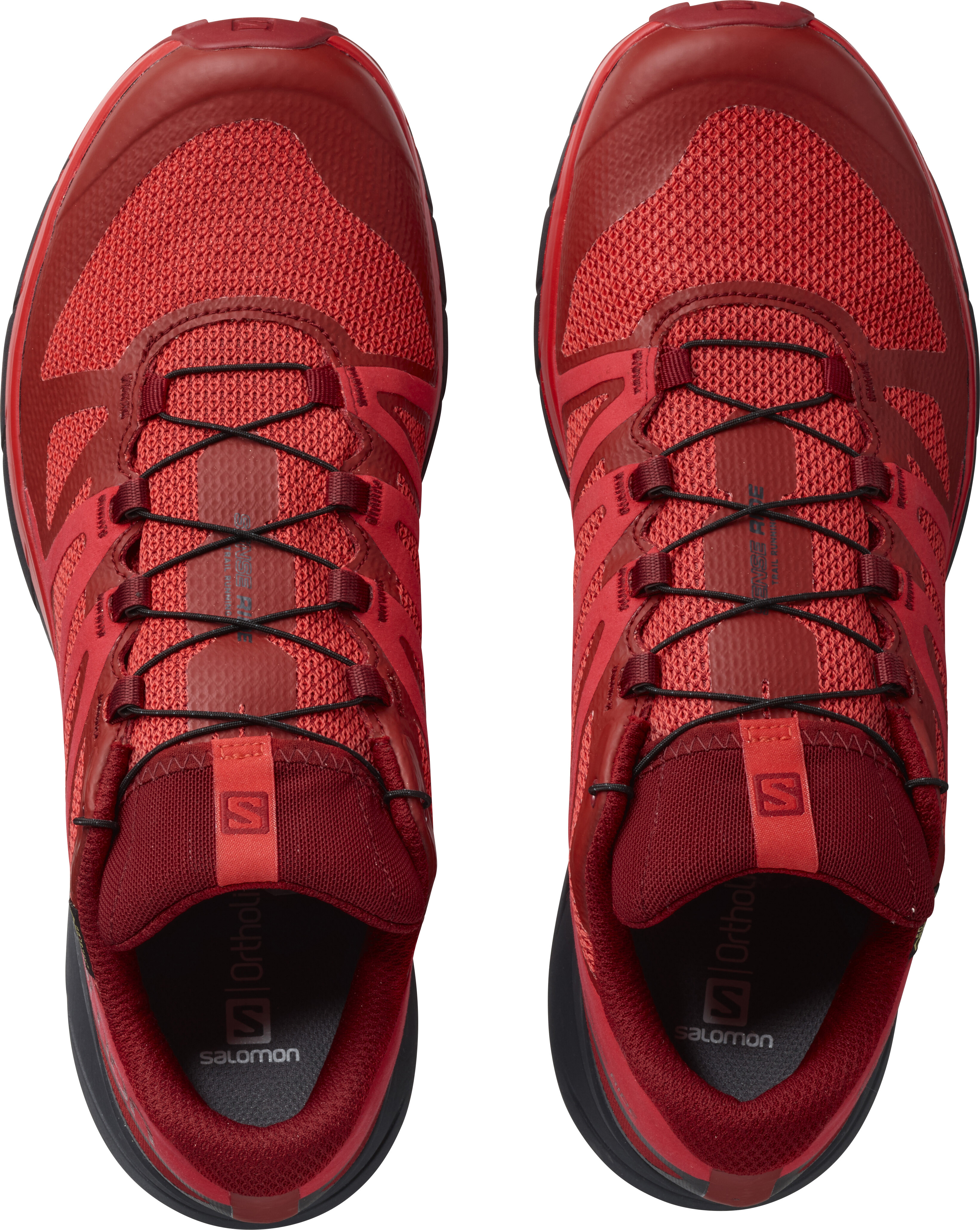 new arrivals da2a1 06561 Salomon Sense Ride GTX Invisible Fit - Chaussures running Homme - rouge